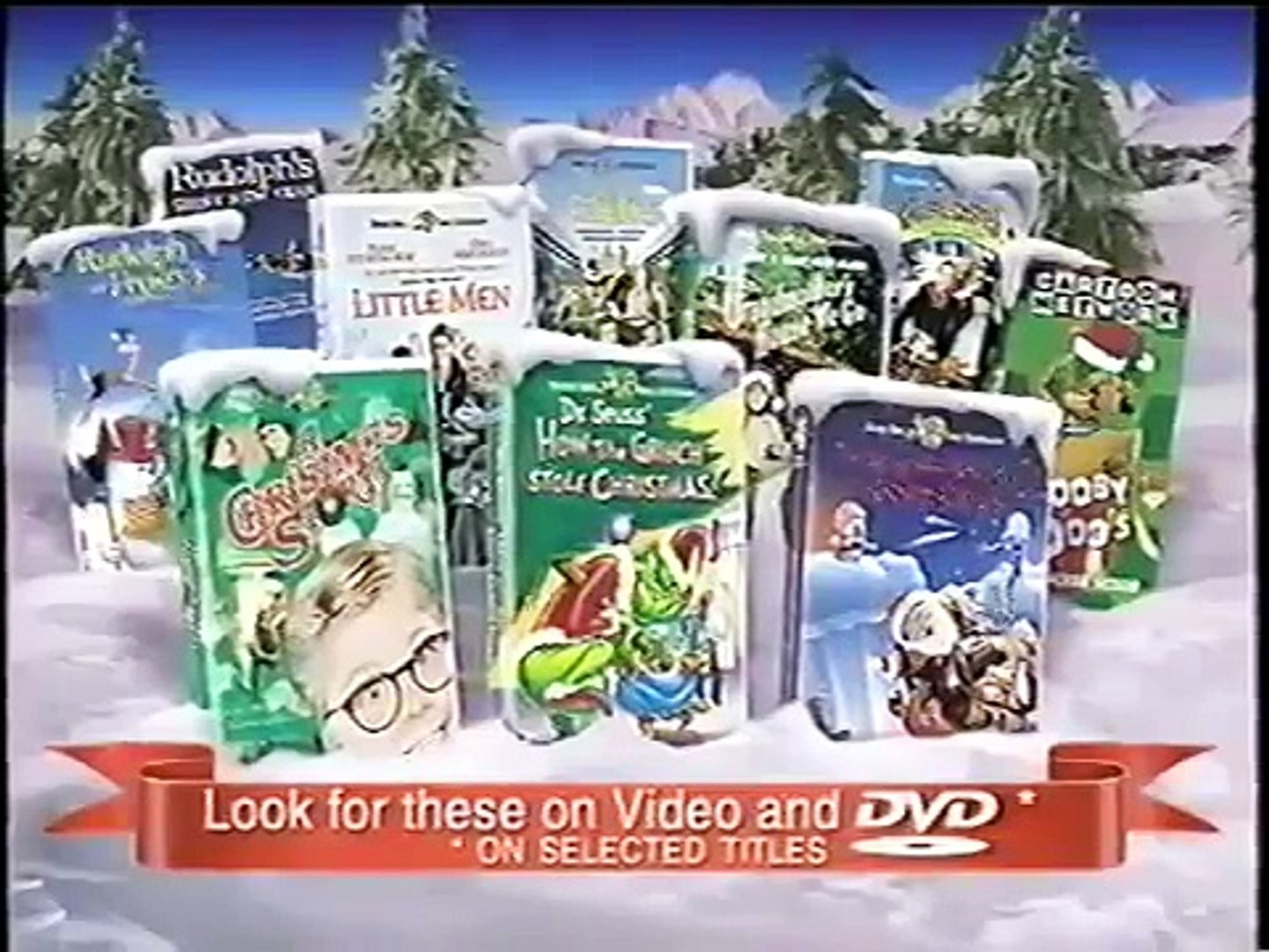 How The Grinch Stole Christmas 2000 Vhs.Opening To How The Grinch Stole Christmas 1999 Vhs