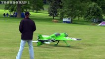 MARTIN PICKERING EXTREME 3D AEROBATICS CARF YAK 55SP AT WESTON PARK RC MODEL AIRCRAFT SHOW - 2013