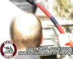 DESTRA SOCIALE - BLITZ - DA ROMA AD ATENE SPEZZIAMO LE CATENE!