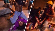 Momma Dee Gets Face Humped!