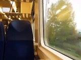 Jízda v soupravě RegioPanter na vlaku Os 6821 mezi zastávkami Neštědice - Dobkovice