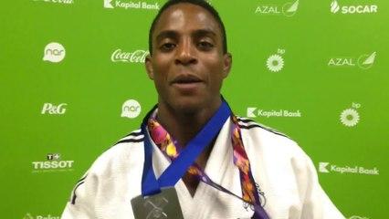 Loïc Korval - médaille d'argent judo -66kg
