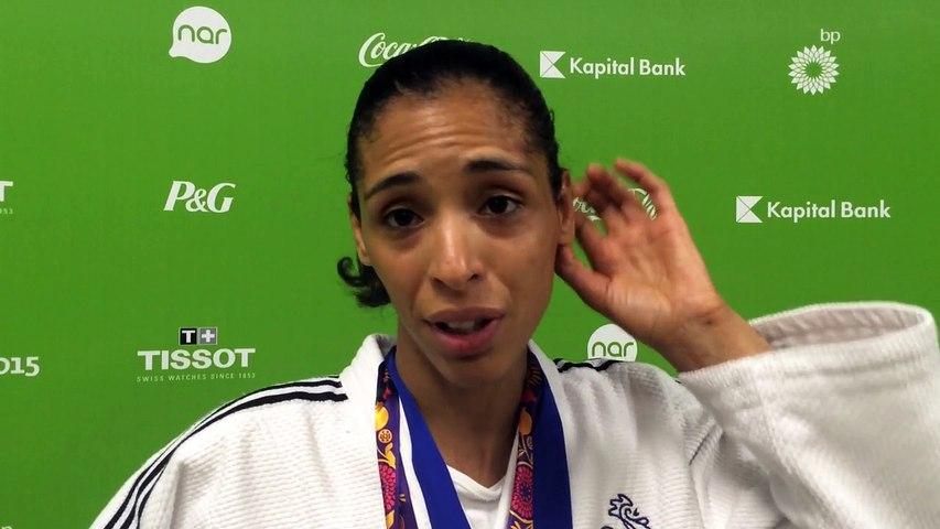 Annabelle Euranie - médaille d'argent judo -52kg