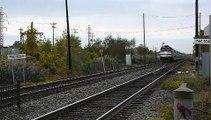 Le train n°16 de l'AMT arrive à Dorval — AMT train #16 arrives in Dorval