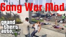 GTA V - Gang War Mod: Ballas vs. Families (Melee Only NPC War) | Guerra de Bandas: Ballas vs. Families (Guerra de PNJs sólo con armas cuerpo a cuerpo)