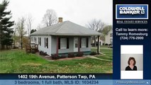 Homes for sale 1402 19th Avenue Patterson Twp PA 15010 Coldwell Banker Real Estate Services