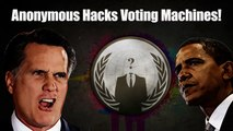 Election Results Leaked!  Anonymous Hacks Voting Machines