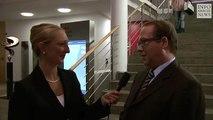Prof. Max Otte im Blitz-interview, Berlin 02.10.2010