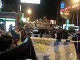Festejos en Rivera, Uruguay nomá!!!!!!!!!! entre los cuatro mejores del mundo