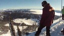 Terje Haakonsen First Run at Red Bull Supernatural - Full Contour+ POV Top to Bottom Snowboarding