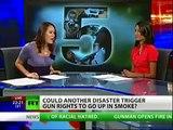 Alex Jones On RT - Hurricane Katrina Gun Confiscation