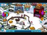 Club Penguin Fall Fair Puffle Circus Member Room 2009