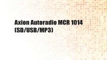 Axion Autoradio MCR 1014 (SD/USB/MP3)
