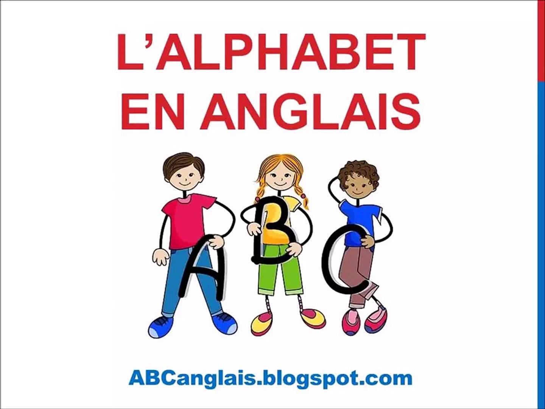 Cours Danglais 1 Lalphabet En Anglais Prononciation Cours Danglais Complet Chanson Pour Enfants