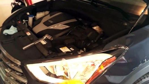 Hyundai Santa Fe Oil Filter Location 3 3l 6 Cylinder