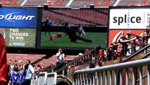 SF 49er Frisbee Dog Show & More-Busy Bee Dogs