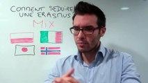 Séduire une étrangère et draguer une Erasmus
