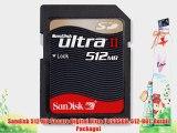 Sandisk 512 MB Secure Digital Ultra II (SDSDH-512-901 Retail Package)