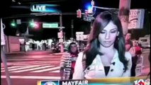 """Hot Reporter Gets """"HUMPED"""""""