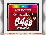 Transcend CF170 64 GB CompactFlash (CF) Card TS64GCF170