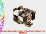 NEC VT580 projector lamp replacement bulb with housing - high quality replacement lamp