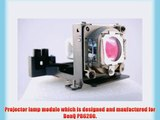 BenQ PB6200 projector lamp replacement bulb with housing - high quality replacement lamp
