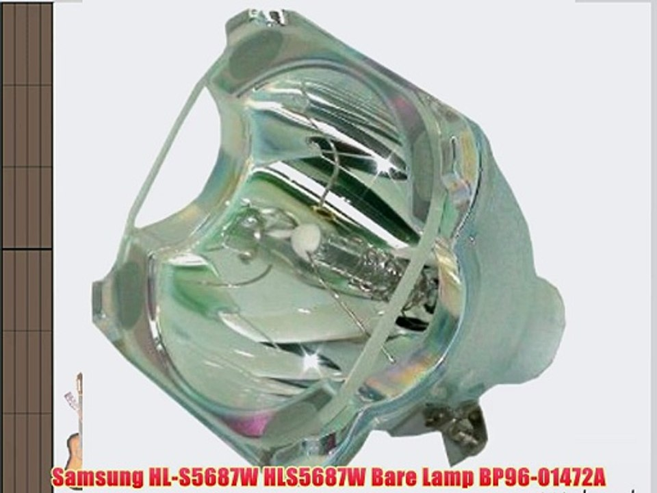 Samsung HL-S5688W HLS5688W Lamp with Housing BP96-01472A