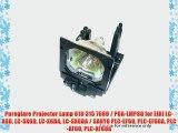 Pureglare Projector Lamp 610 315 7689 / POA-LMP80 for EIKI LC-X6D LC-SX6D LC-X6DA LC-SX6DA