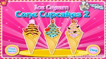 Ice Cream Cone Cupcakes 2 Cooking Games for Little Girls Fun Kids Games