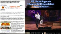 Bill Gates Exposed: Funds Chemtrails, and Supports Depopulation 2/7/2012