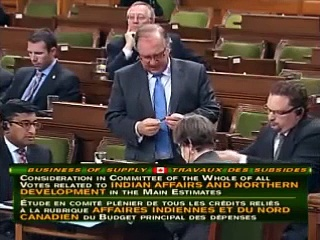 Angus Grilling Valcourt on First  Nations Child Welfare and Education