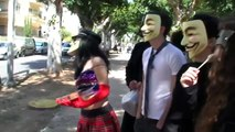 Anonymous VS Scientology - March 2009, Tel Aviv, Israel