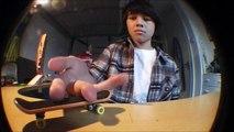 Tech Deck Montage - Impossible, Kickflip, Shove-it, Ollie.