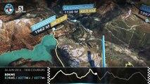 Parcours 3D - 80Kms du Mont-Blanc