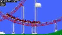 Algodoo - Triple Play - Looping Roller Coaster
