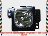 Diamond Lamp for ANTHEM LTX 500V Projector with a Philips bulb inside housing