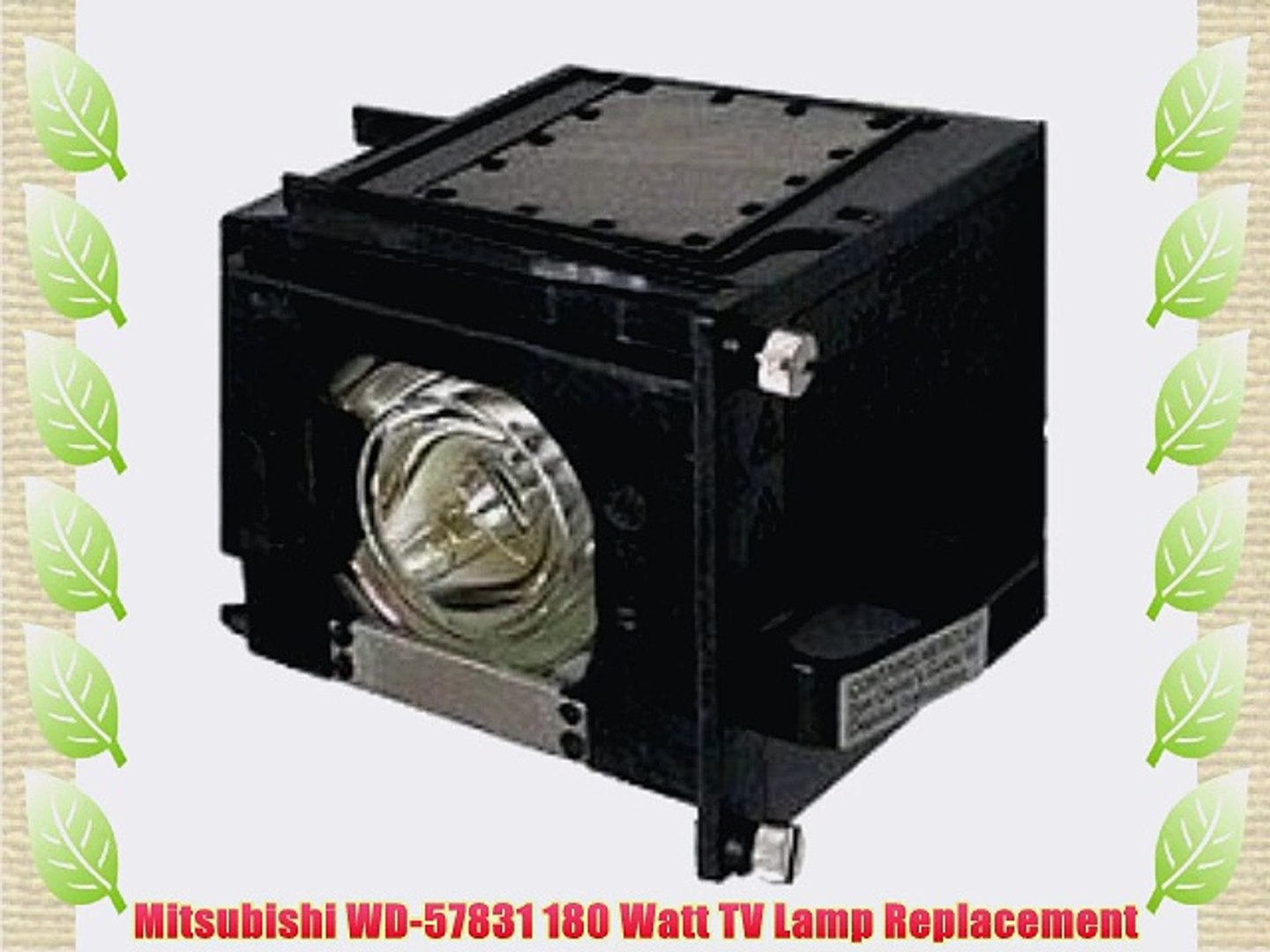 FI Lamps FI/_WD-60638 Compatible with Mitsubishi WD-60638 TV Replacement Lamp New