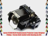 Epson V13H010L39 Replacement Projector Lamp (Original Philips / Osram Bulb Inside) with Housing
