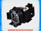Sony LMP-E180 UHP Replacement Lamp (VPL-ES1 Projector)