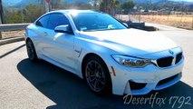 BMW M4 Walkaround + exhaust start up (7.5k RPM revs)