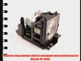 Hitachi CP-X445 projector lamp replacement bulb with housing - high quality replacement lamp