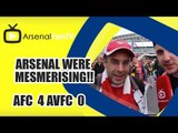 Arsenal Were Mesmerising!!  | Arsenal 4 Aston Villa 0 | FA Cup Final