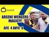 Arsene Wengers Magic!!! | Arsenal 4 Aston Villa 0 | FA Cup Final