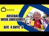 Arsenal Were Awesome!!  | Arsenal 4 Aston Villa 0 | FA Cup Final