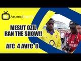 Mesut Ozil Ran The Show!! | Arsenal 4  Aston Villa 0 | FA Cup Final