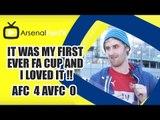 Alexis Is £35 Million Well Spent!! | Arsenal 4 Aston Villa 0 | FA Cup Final