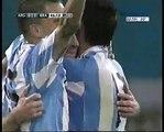 Gol de Messi a Brasil , Relatos de la TV Argentina, Walter Nelson-Argentina 1 - Brasil 0