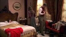 Lesmes se molesta porque Aurora se quiere quedar en el Jaral para estar pendiente de Maria y Conrado