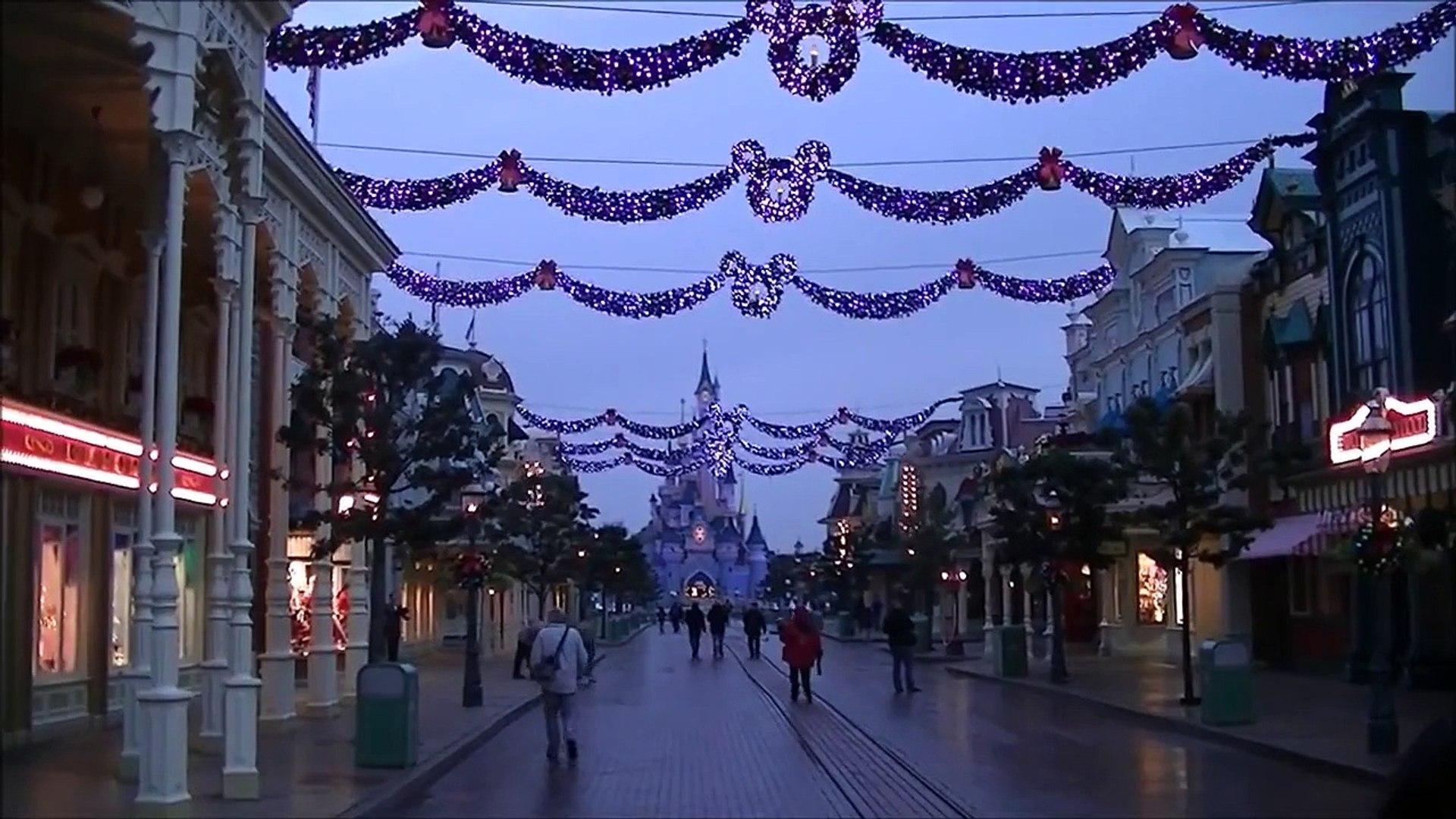 Mainstreet U.S.A. (Extra Magic Hours) - Disneyland Paris (November 25, 2014)