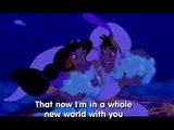 Aladdin - Clip com legendas em Inglês